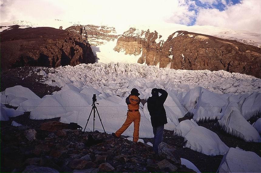 慕士塔格冰川