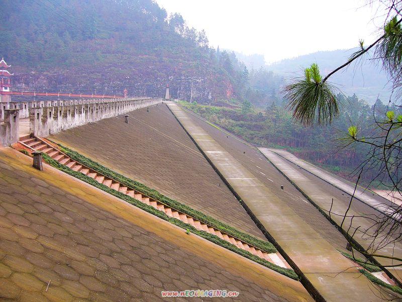 云台山风景区为省级森林公园和马尔岩(水库)