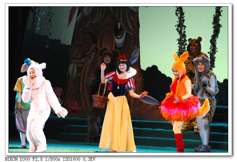 白雪公主和小动物们