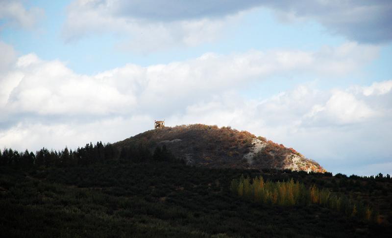 路过延吉著名的帽儿山风景区