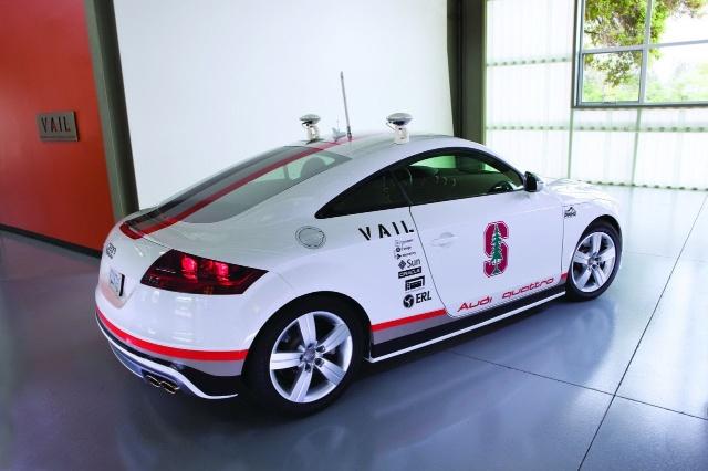 全自动无人驾驶的奥迪TTS曝光 图高清图片