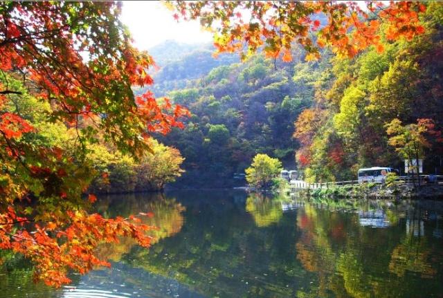 【广场精华】 国家重点风景区和国家森林公园关门山_水景(2)