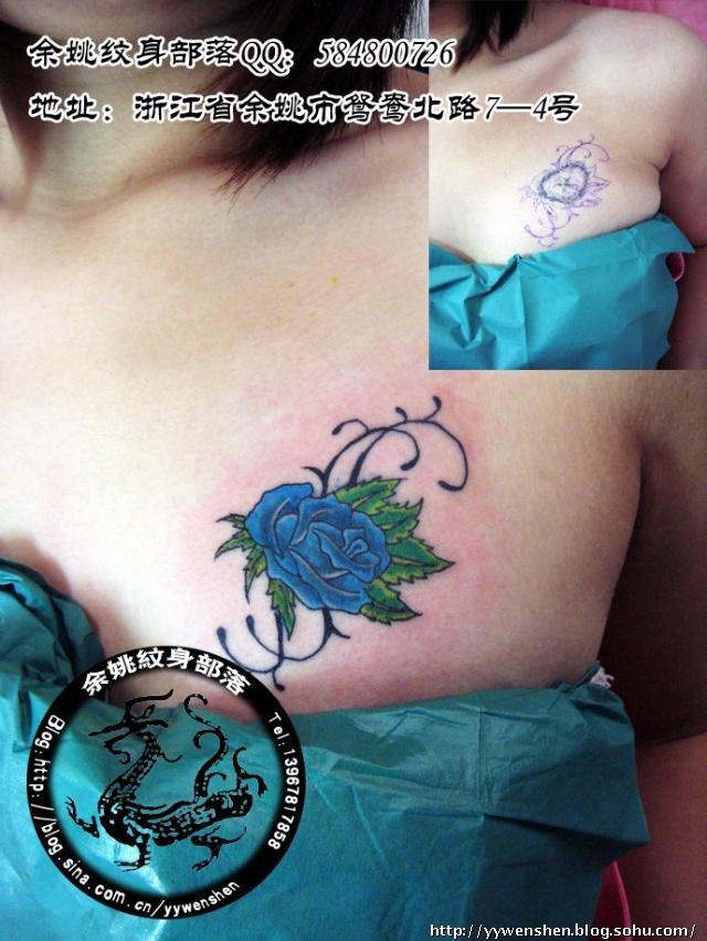 手腕遮疤小纹身图案分享展示