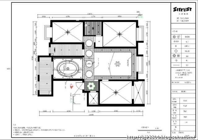 项目名称:名流尊邸花园 工程面积:140平米(套内建筑面积) 房屋类型:三居室 套餐造价:140*485=69700元(套餐包含项目:含基础装修、莱茵阳光强化复合地板、梦娜丽莎瓷砖、三优实创实木复合门、顶固五金、贝尔维尼橱柜、立邦墙漆、箭牌洁具、现代冠军铝天花板等) 增项造价:22930元(含:防水、水路改造、电路改造、地面找平、门厅吊顶、进门屏风、电视背景、垃圾清运、餐厅吊顶、客厅吊顶、阳台处理、过道吊顶、地面拼花、管理费、税金等) 工程总造价:90830元 设计说明: 客户要求:风格要现代欧式、整体要