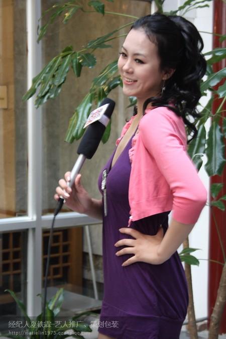 雅得时尚特种模特作客北京电视台文艺频道访谈栏目《百姓秀场》