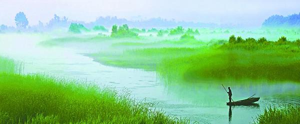 美丽黄河口----我可爱的家乡