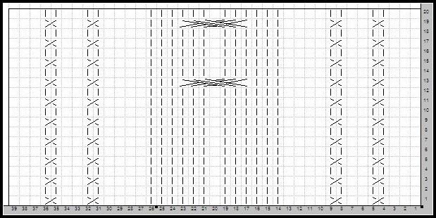 鱼骨针的织法图解大麻花针的织法图解双桂花针的织法