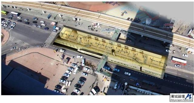 大连地铁1号线 2号线车站效果图图片