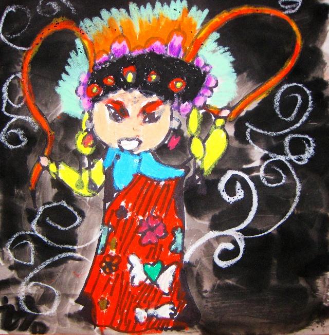 儿童水墨画