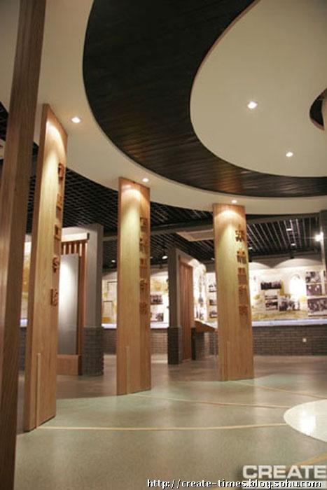 陈列展厅设计-西安建筑科技大学