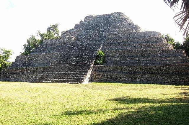 科斯塔玛雅是墨西哥的考古胜地
