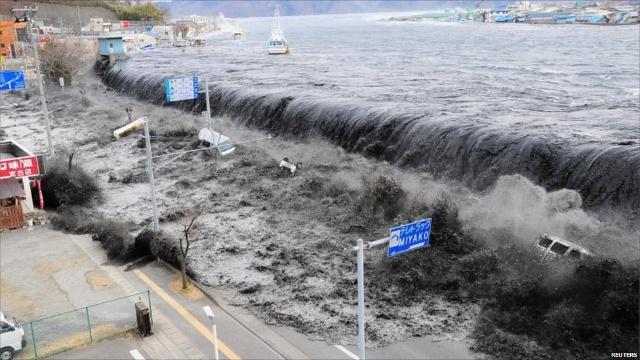日本东京大地震(11-3-2011)