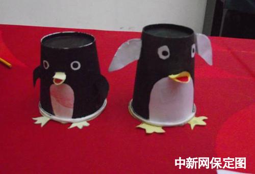 蛋壳企鹅手工制作步骤