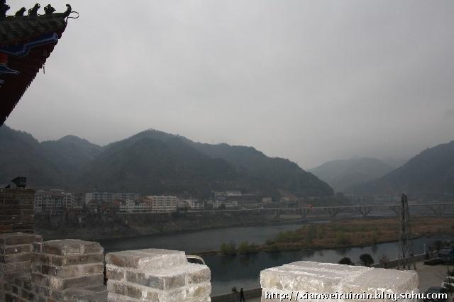 汉中南郑县大汉山景区