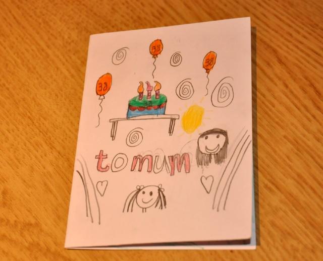 生日简易手绘图