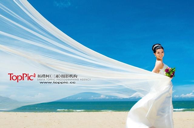 欣赏下西岛婚纱照吧