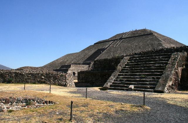 习总去过的墨西哥太阳月亮金字塔