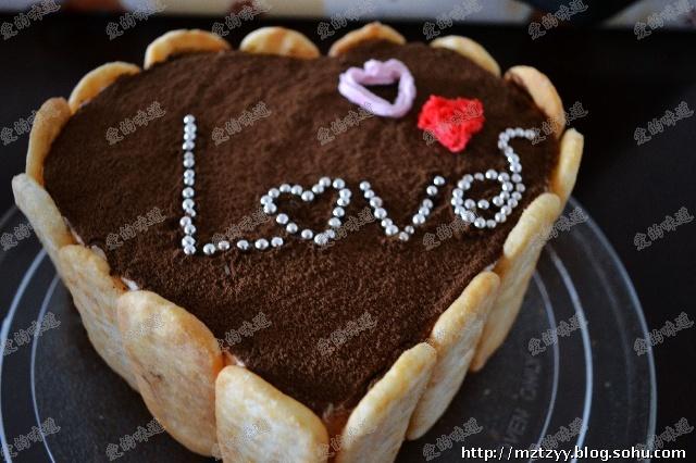爱心小蛋糕 结婚七周年纪念一下
