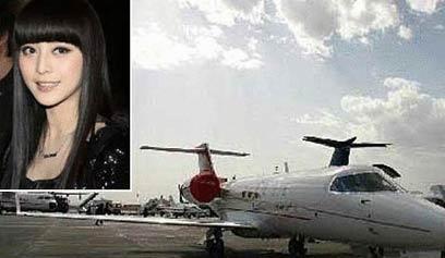 [转载]悉数娱乐圈有私人飞机的明星(组图)