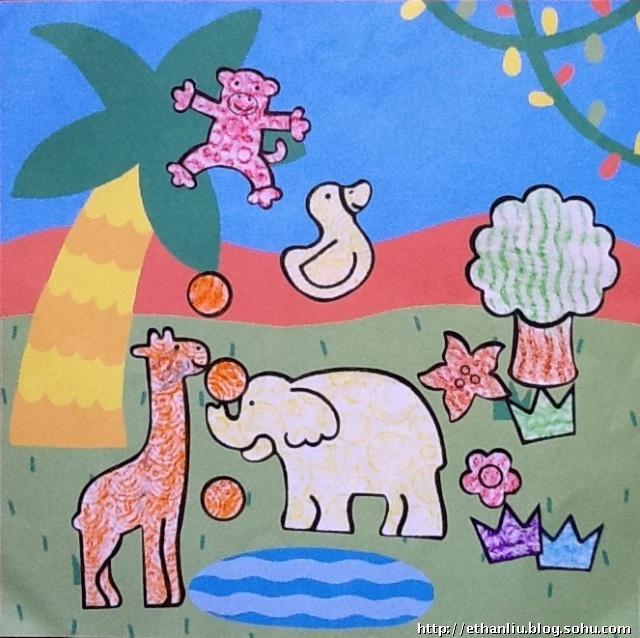 涂鸦-动物园篇