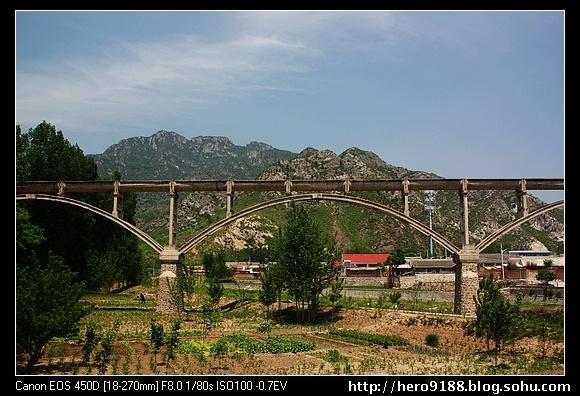 大角峪村风景