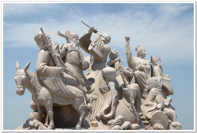 山东之旅1--蓬莱八仙过海